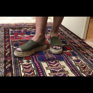 Shoes - J/Slides Platform Espadrilles